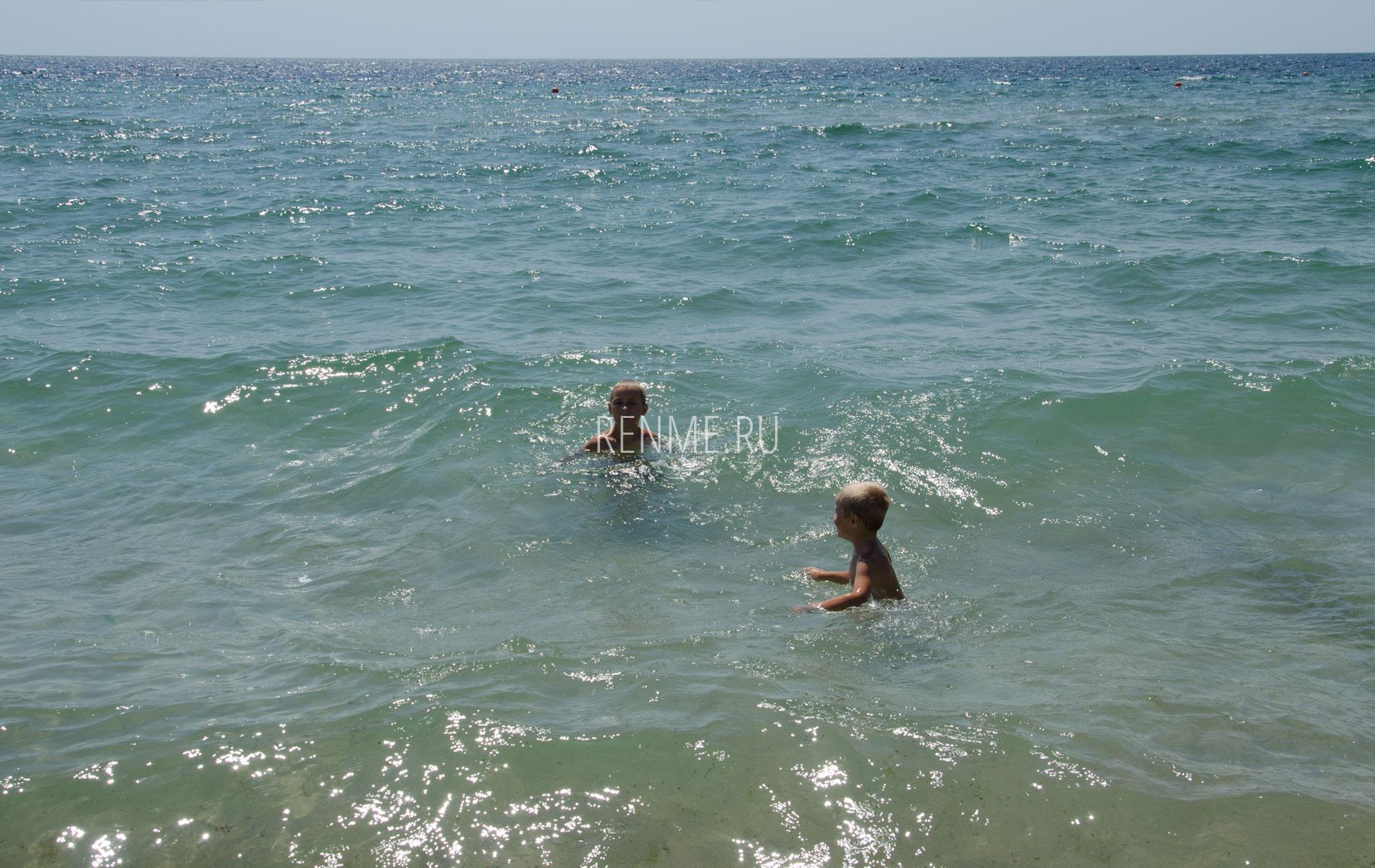 "Море на пляже ""Парадиз"". Фото Заозёрного"