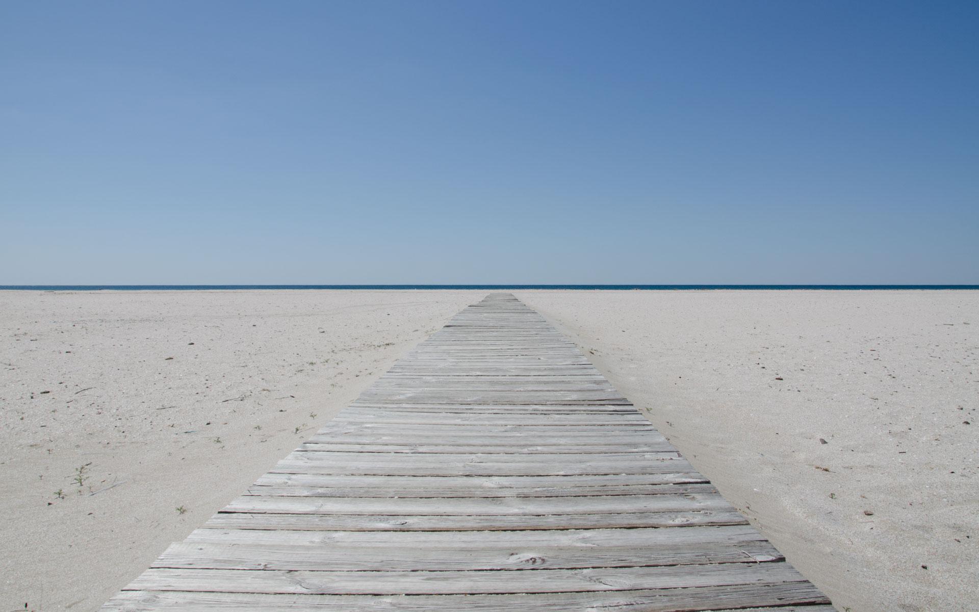 Коса Южная. Пустой пляж 2019. Фото Мирного
