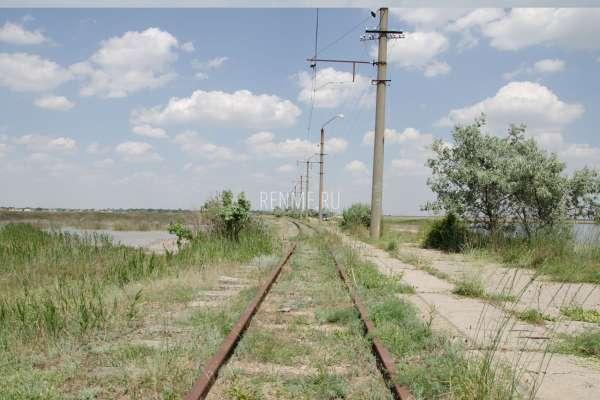 Трамвайный путь. Фото Молочного