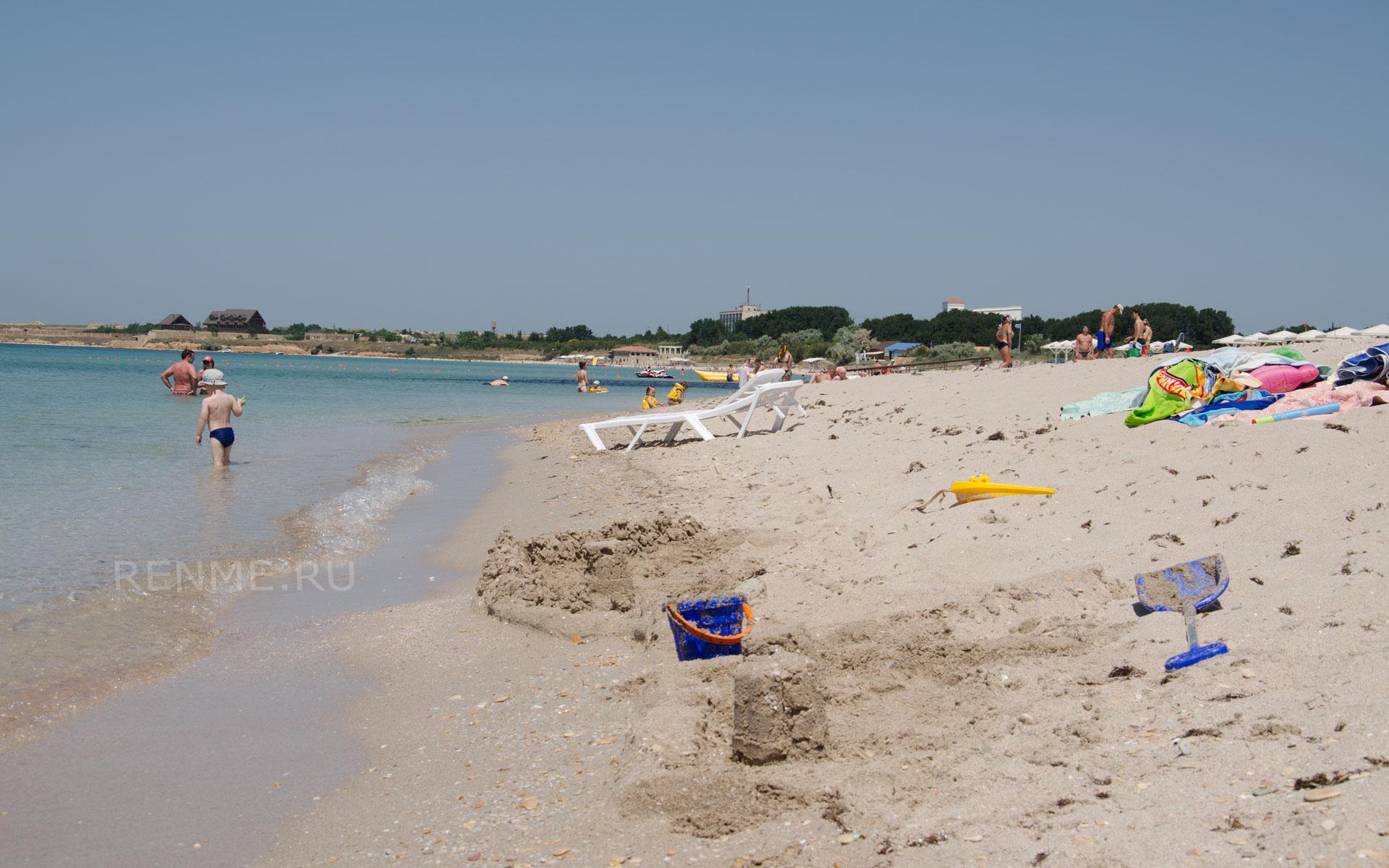 Лучшие пляжи России. Фото Оленевки