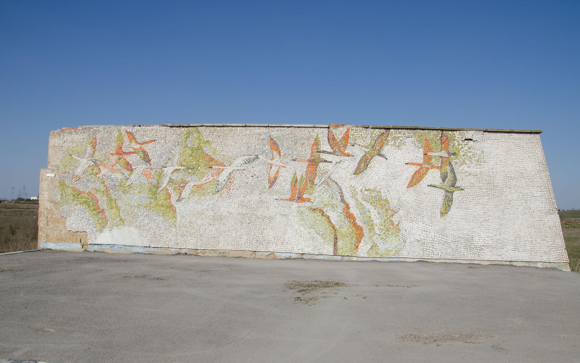 Старая остановка. Фото Прибрежного