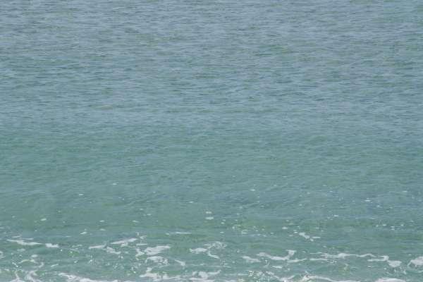 Море в Мирном. Апрель 2019. Фото Мирного