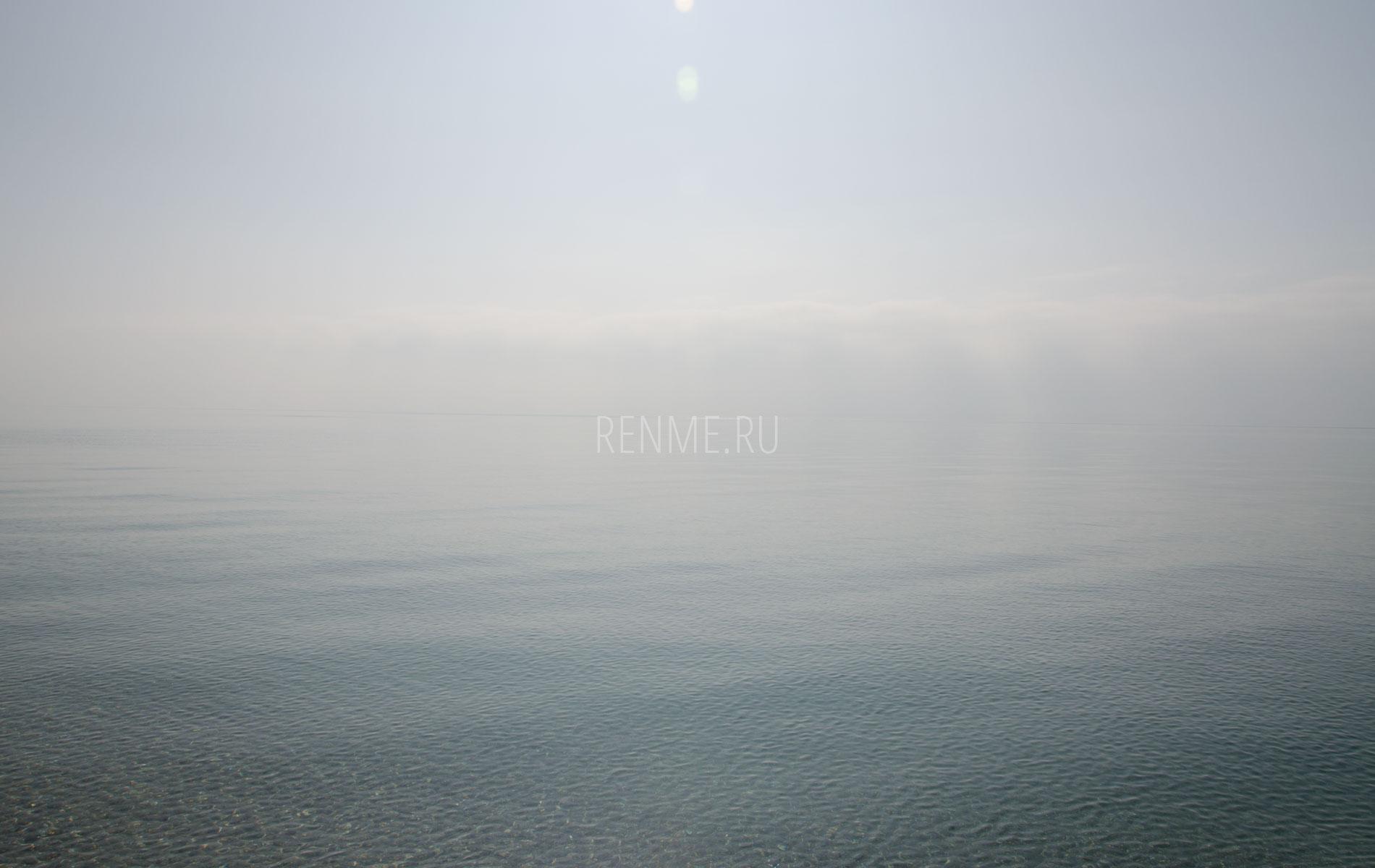 Черное море осенью 2019. Фото Евпатории
