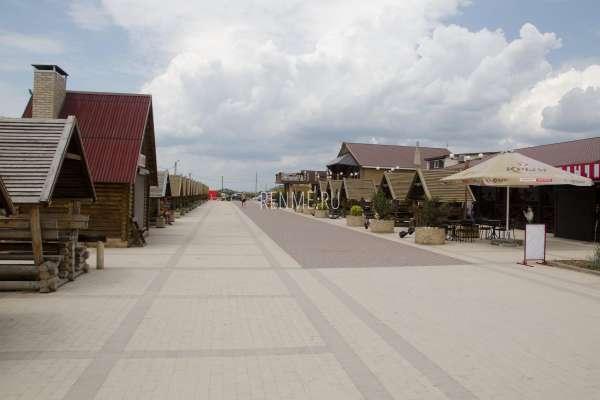 Набережная Прибрежного в июне 2020. Фото Прибрежного