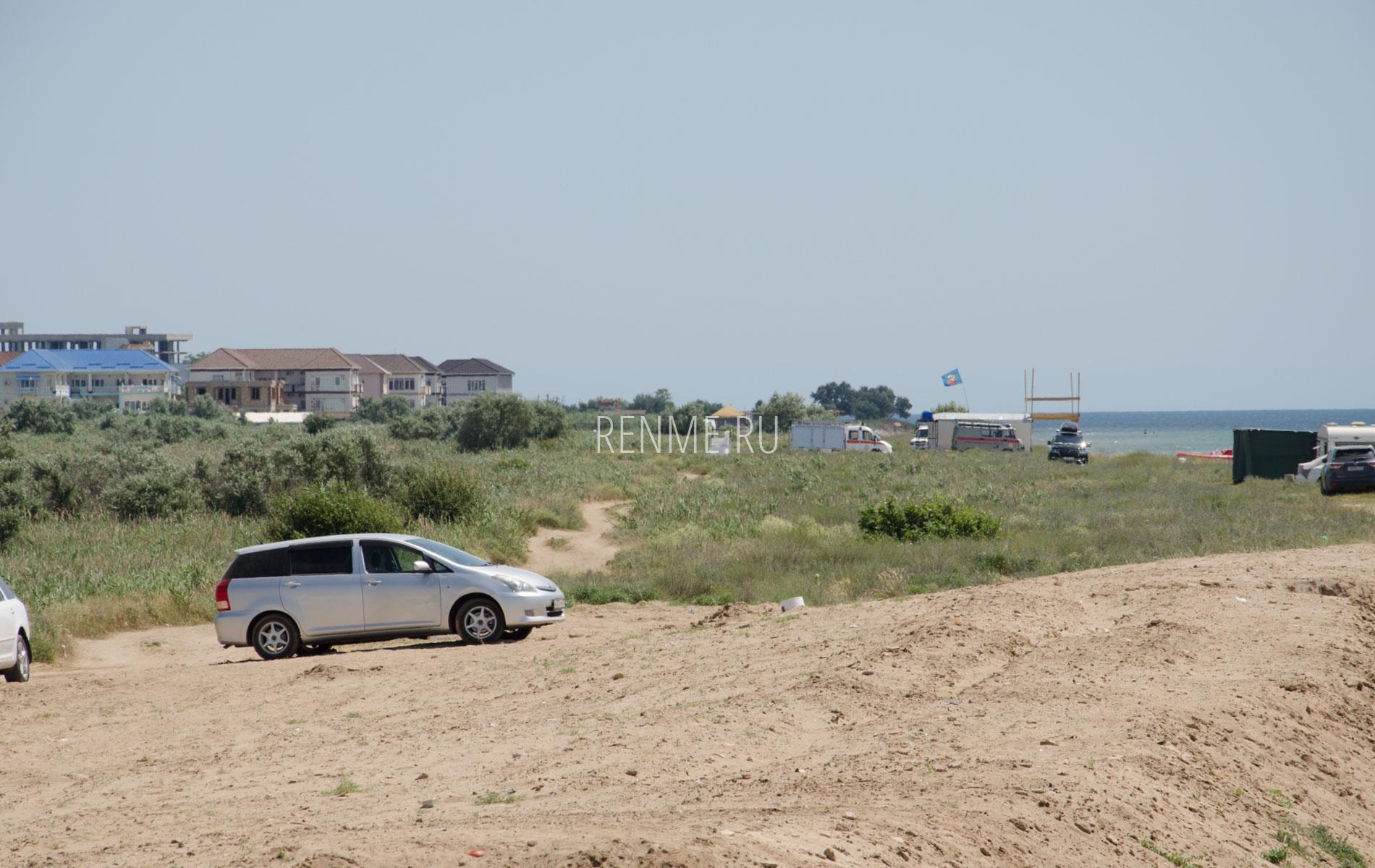 Дикий пляж под Евпаторией, Заозерное. Фото Заозёрного