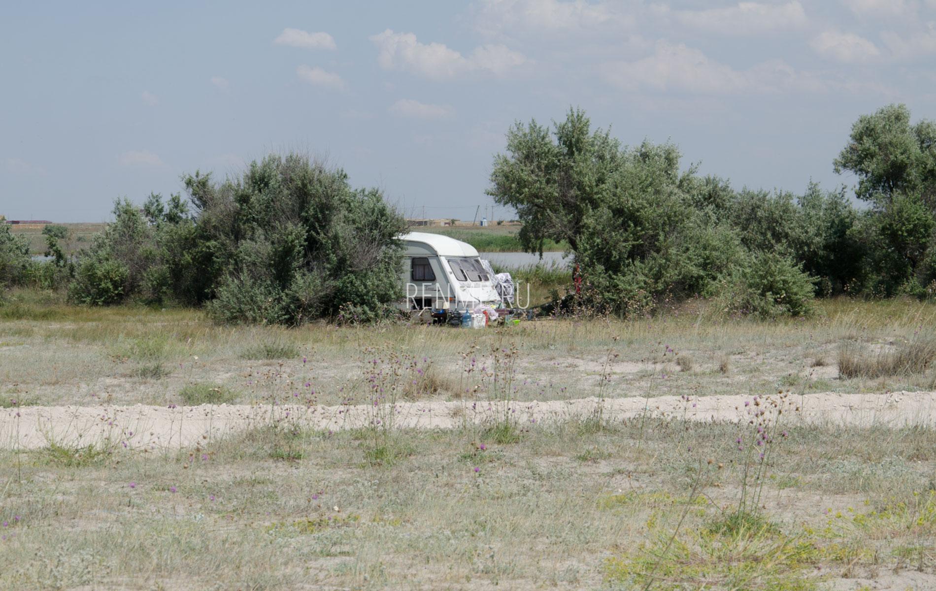 Отдых дикарями в Крыму. Фото Штормового