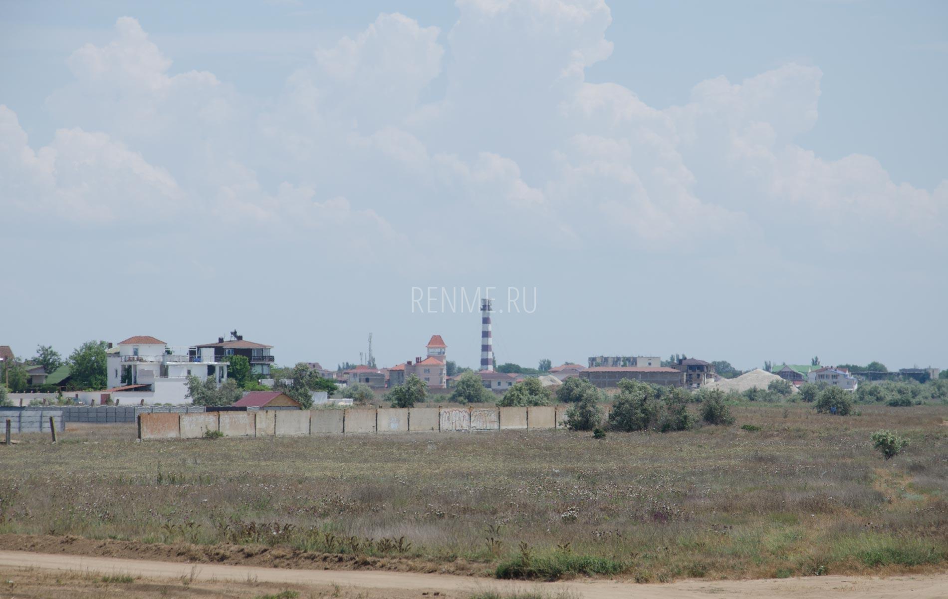 Маяк в Заозёрном. Фото Заозёрного