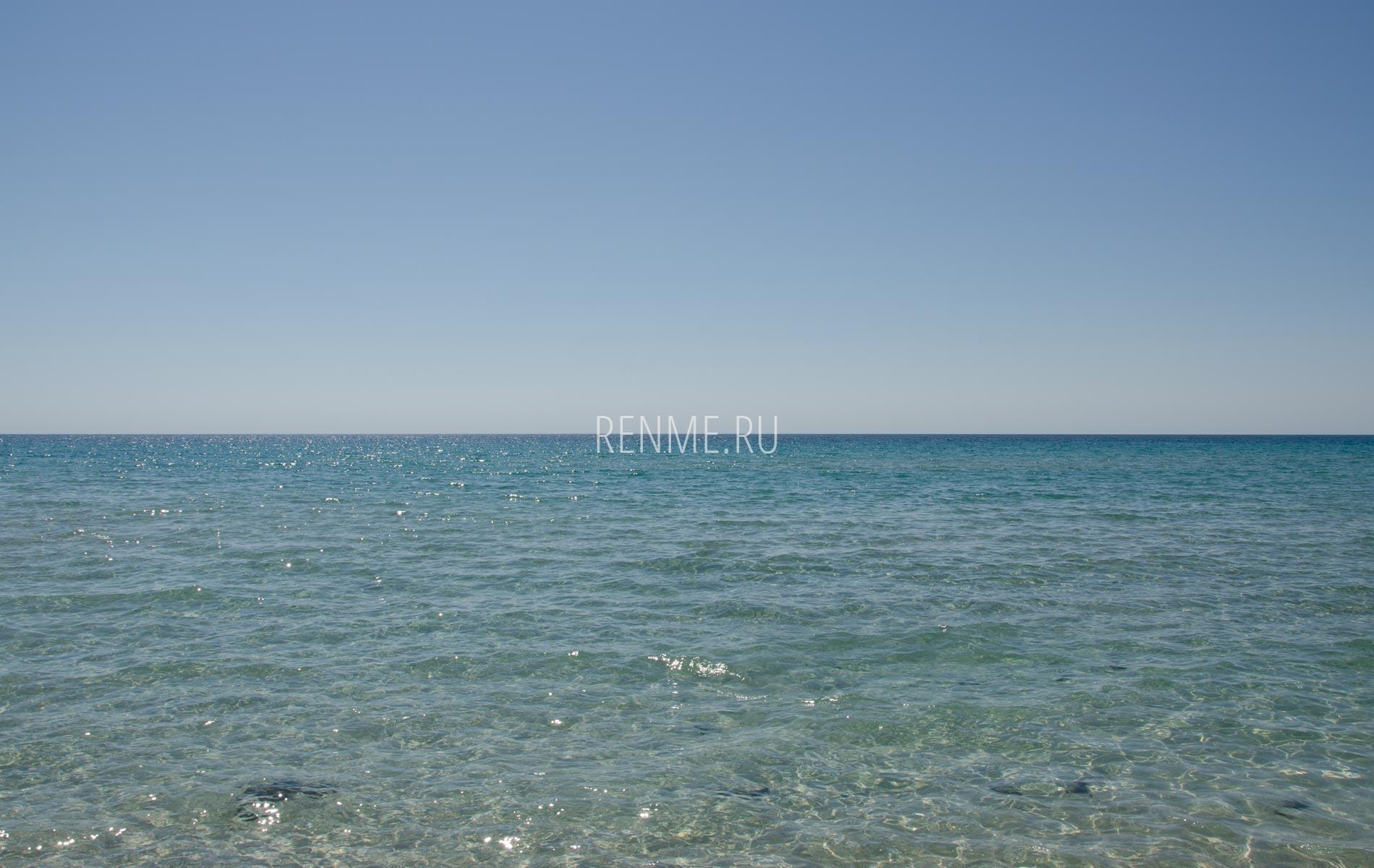 Июньское море в Оленевке. Фото Оленевки