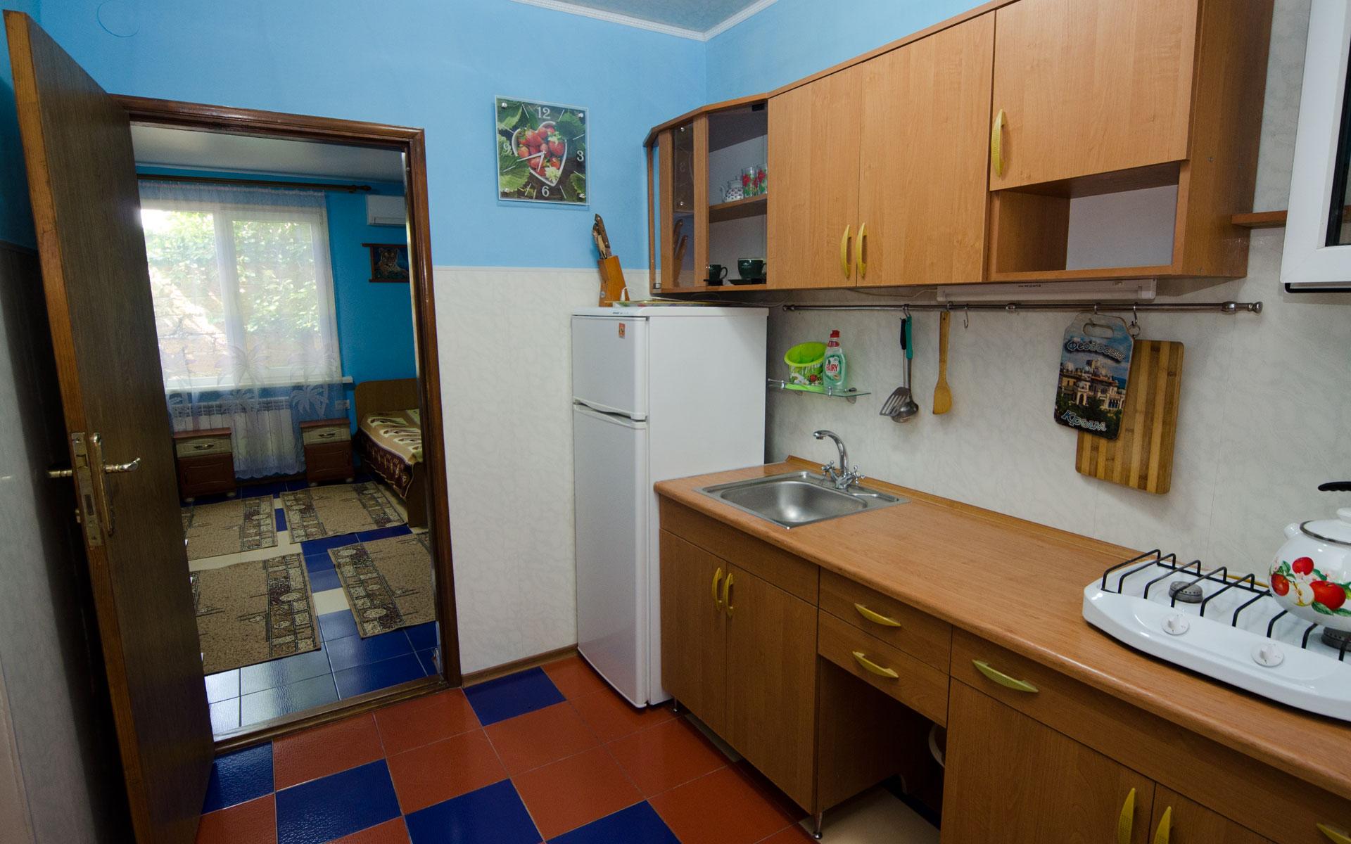 Кухня. Квартира 2. 2 квартиры на ул. Гайдара. Заозёрное