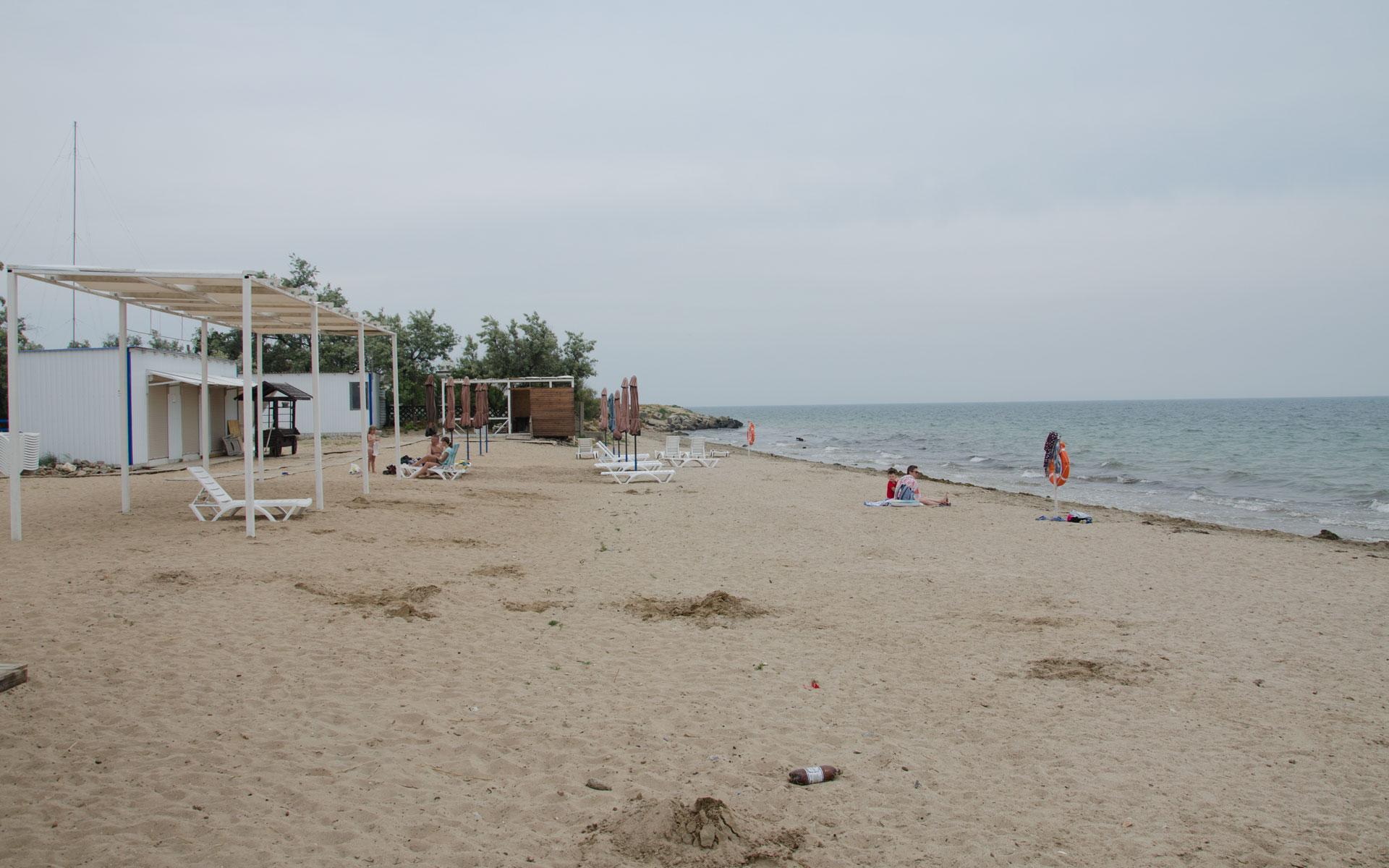 Пляж Мохито. Фото Заозёрного