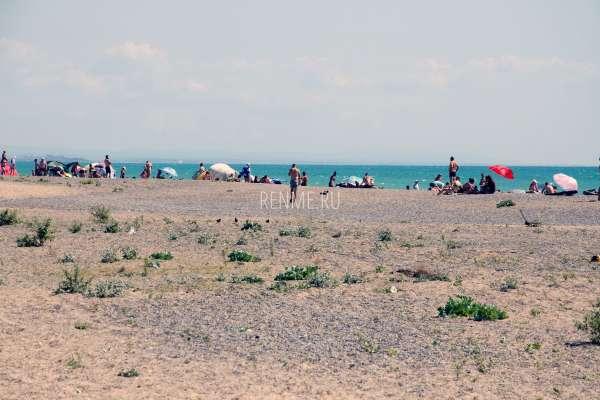 Дикий пляж Новофедоровки. Пляжи Новофедоровки