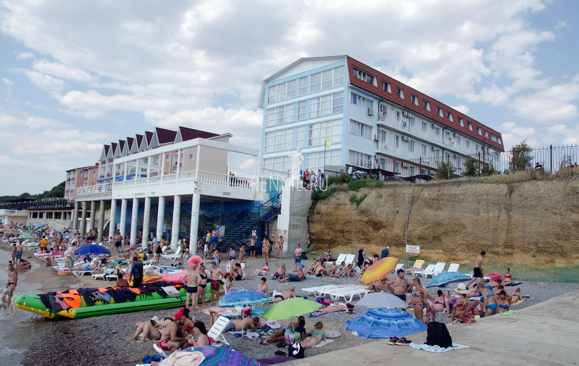 """Отель """"Савита"""". Фото Николаевки"""