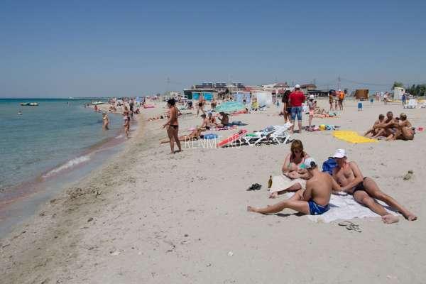Реальный пляж. Фото Штормового
