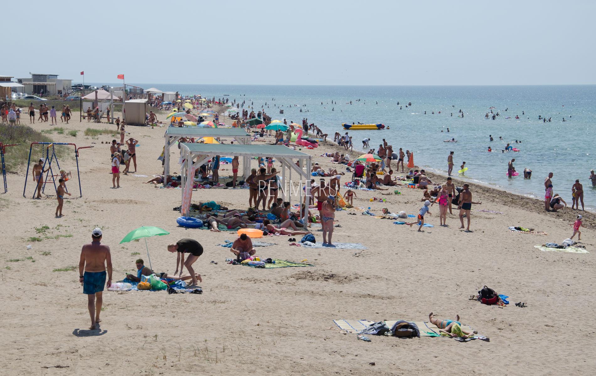 Пляжи Песчанки. Фото Заозёрного