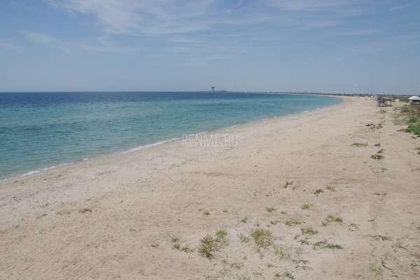 Песчаные пляжи на западе Крыма. Фото Заозёрного