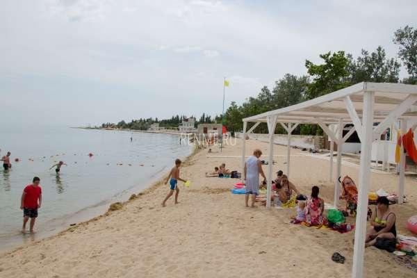 """Пляж """"Керкинитида"""". Пляжи Заозёрного"""
