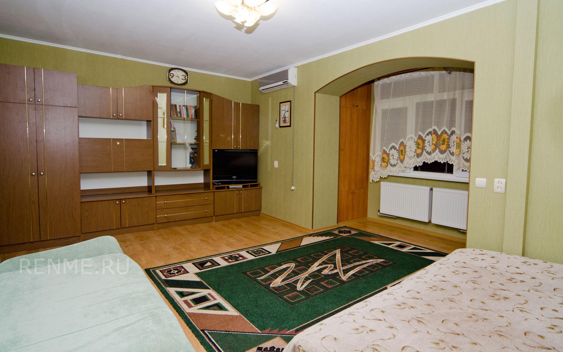 Комната. Однокомнатная квартира в Заозерном. Квартиры Заозёрного