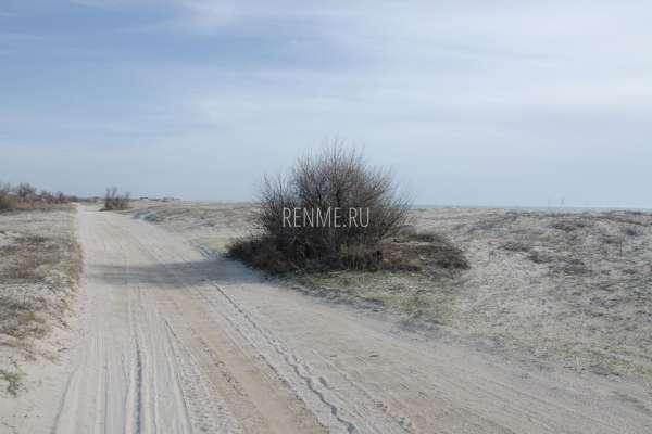 Пляжная дорога между поселками. Фото Поповки