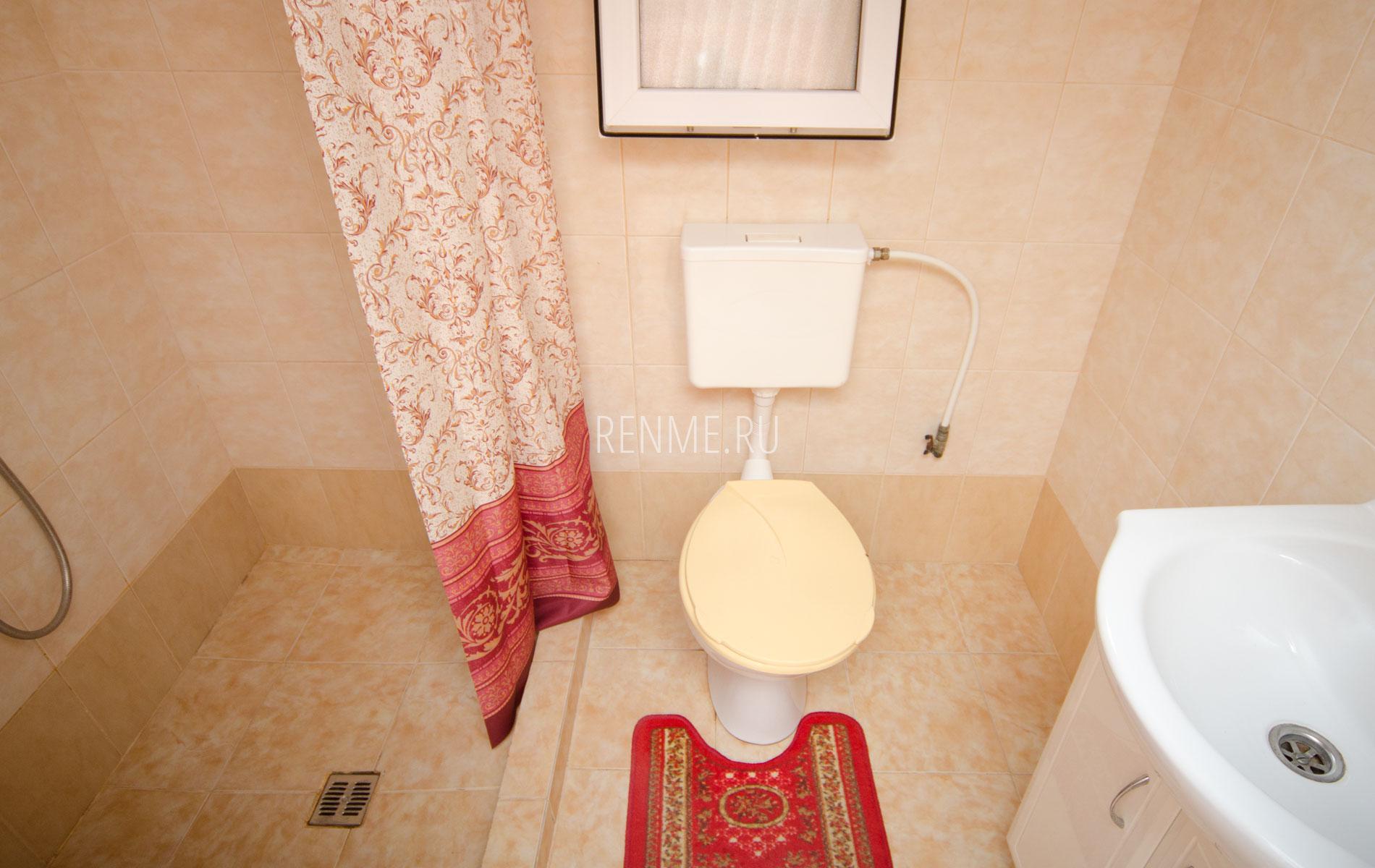 Душ, туалет. 8 квартира. Апарт-отель на 8 квартир. Заозёрное