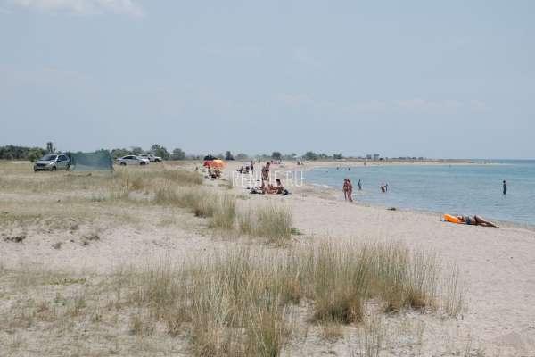 Дикий пляж Штормового. Пляжи Штормового