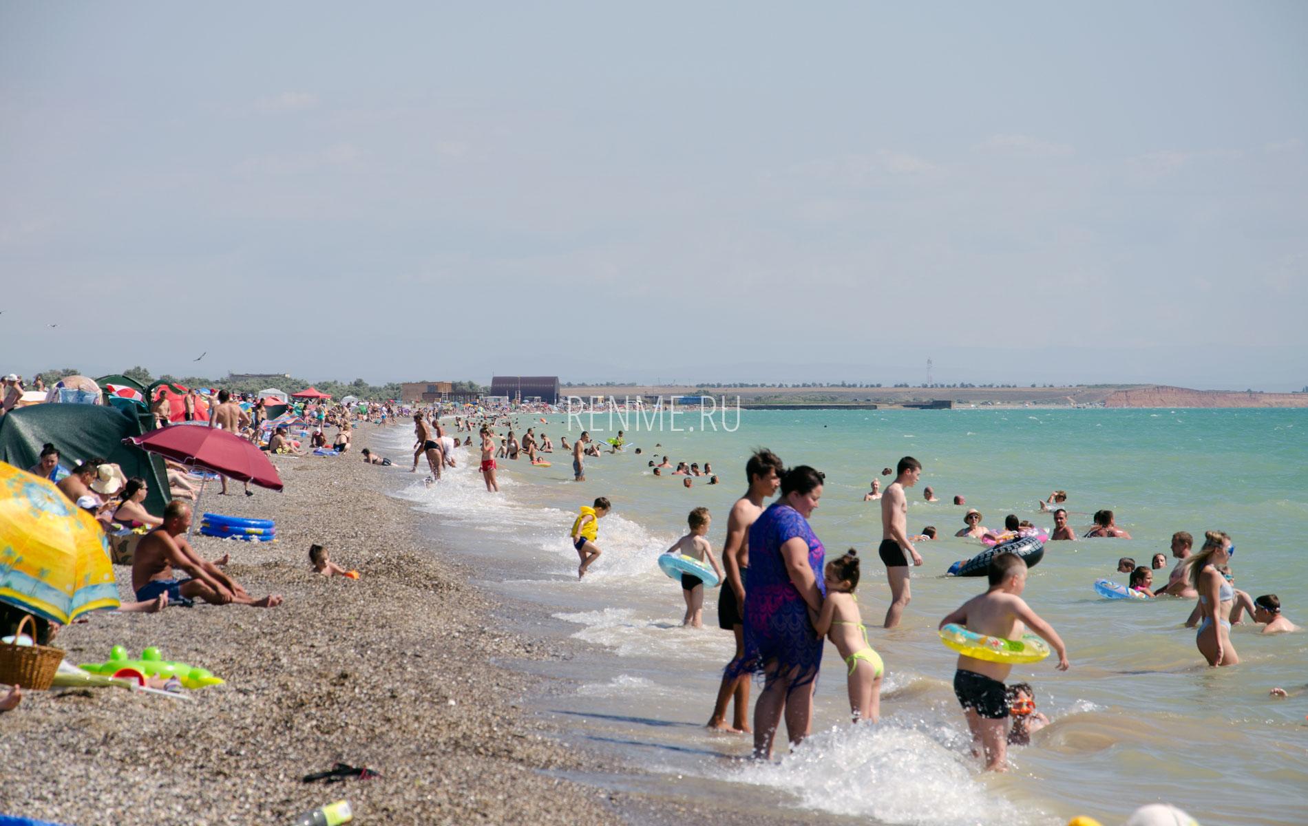 Маленький Крымский дикий пляж 2019. Фото Новофедоровки