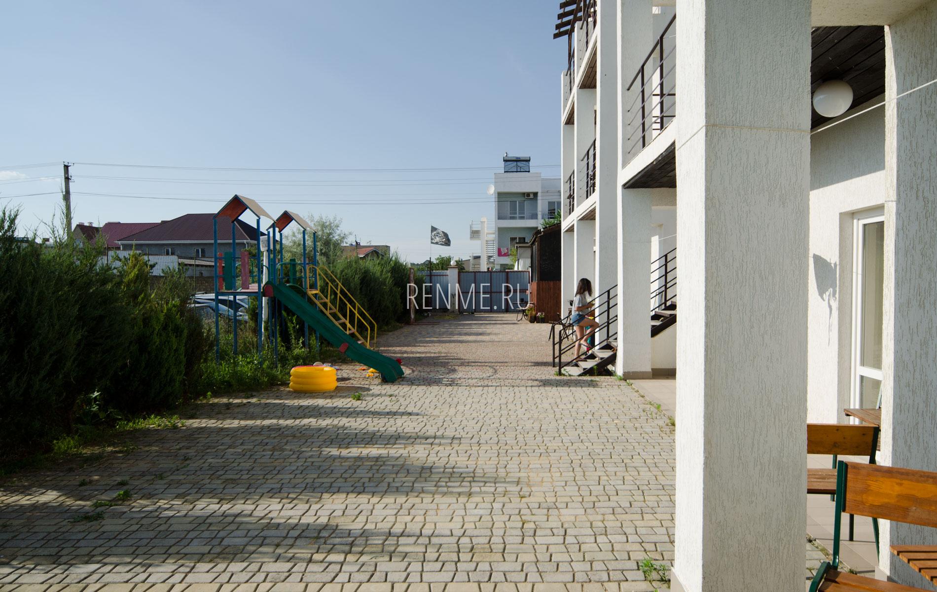 Отель на Песчанке