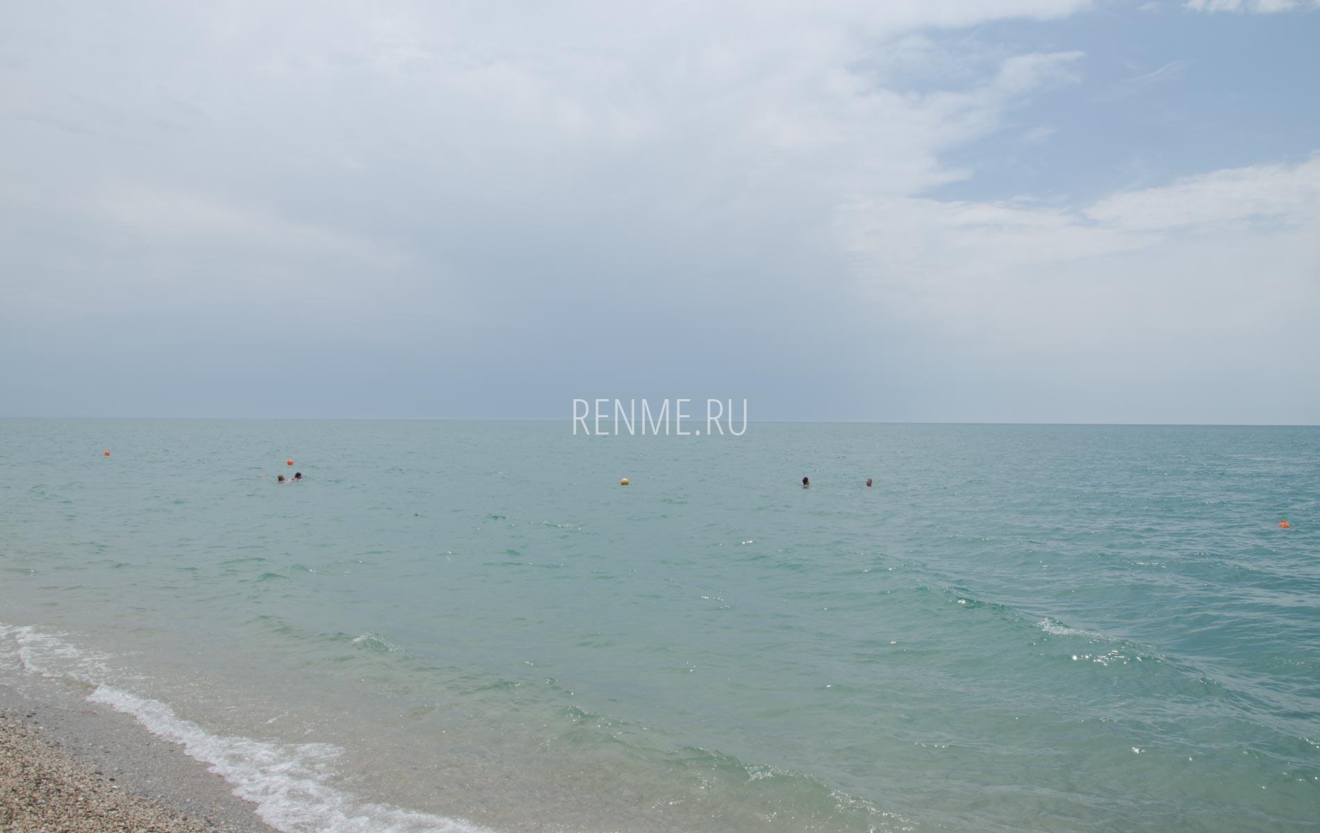 Такое море в Крыму. Фото Прибрежного