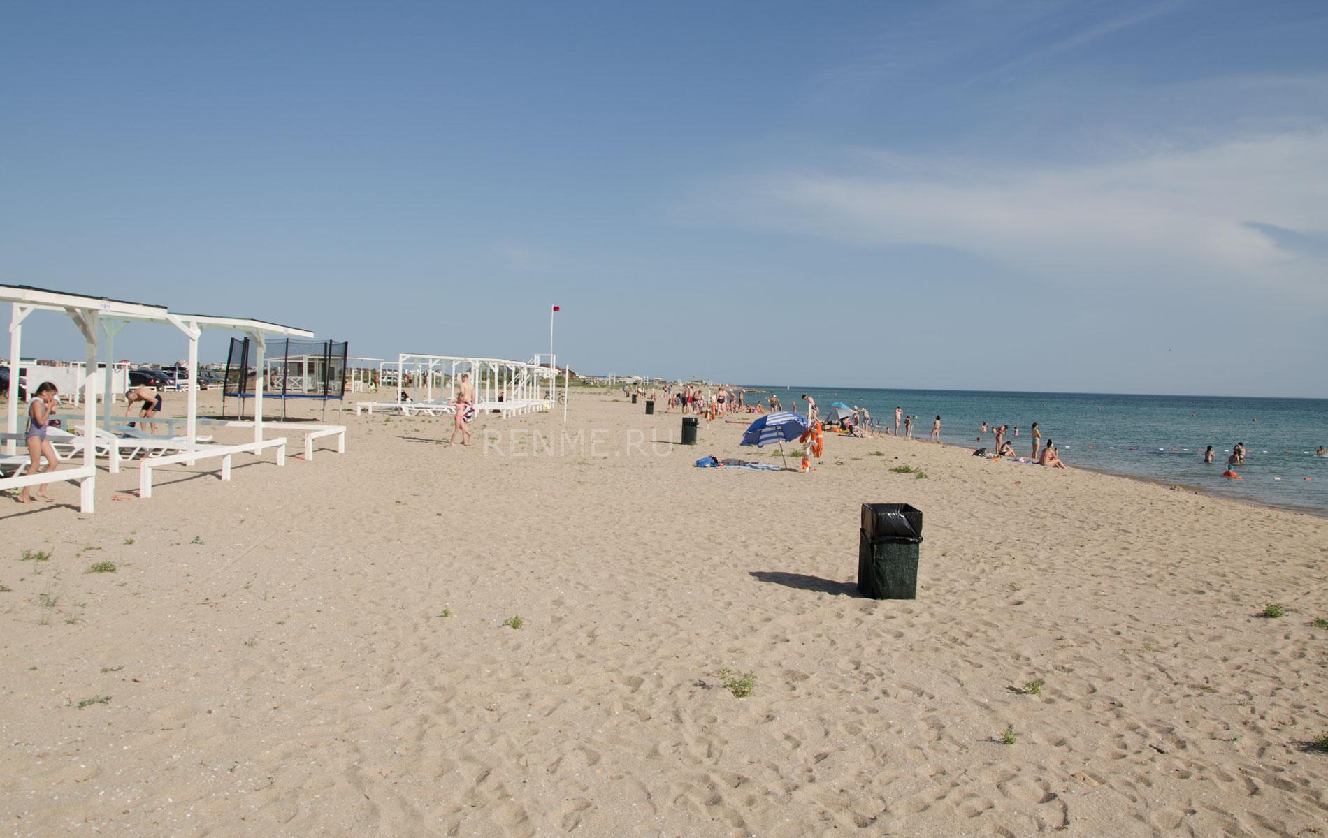 """Следующий пляж """"Парадиз"""". Фото Заозёрного"""