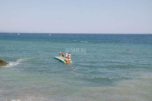Море в Алуште. Фото Алушты