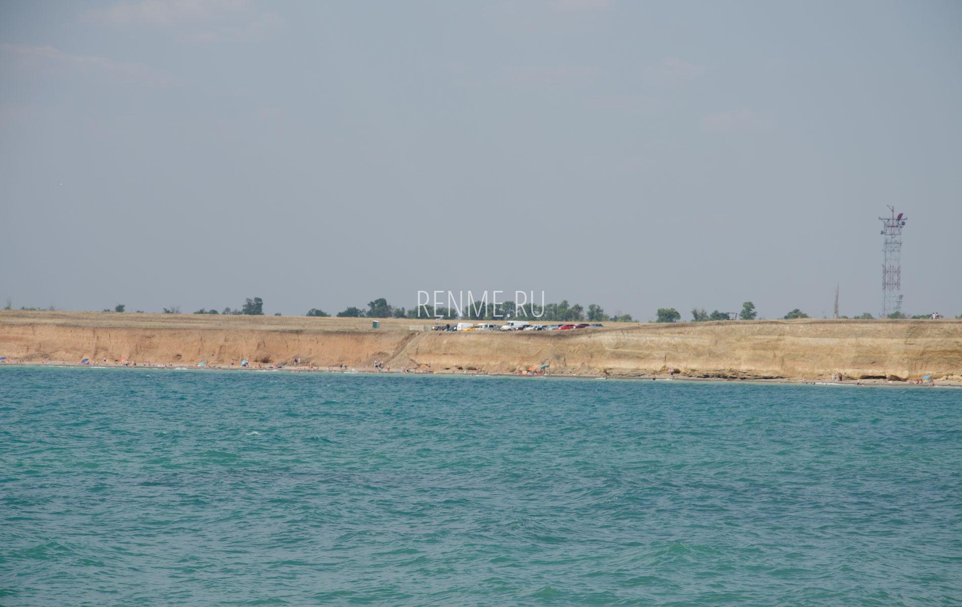 Дикий пляж под Николаевкой. Фото Николаевки