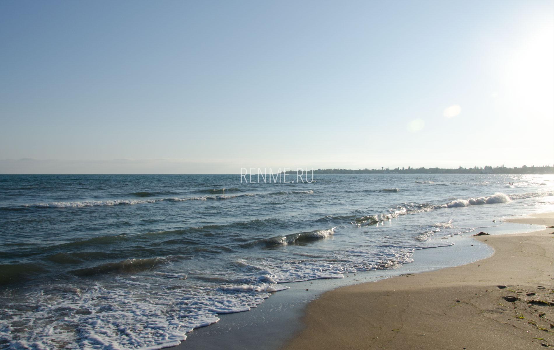 Осеннее море Евпатории 2019. Фото Евпатории