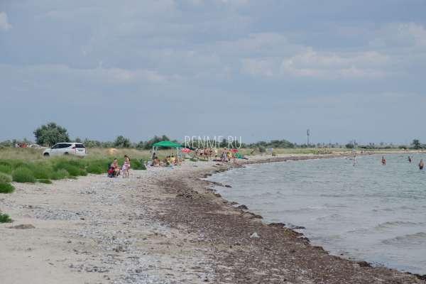 Русский дикий пляж. Фото Молочного