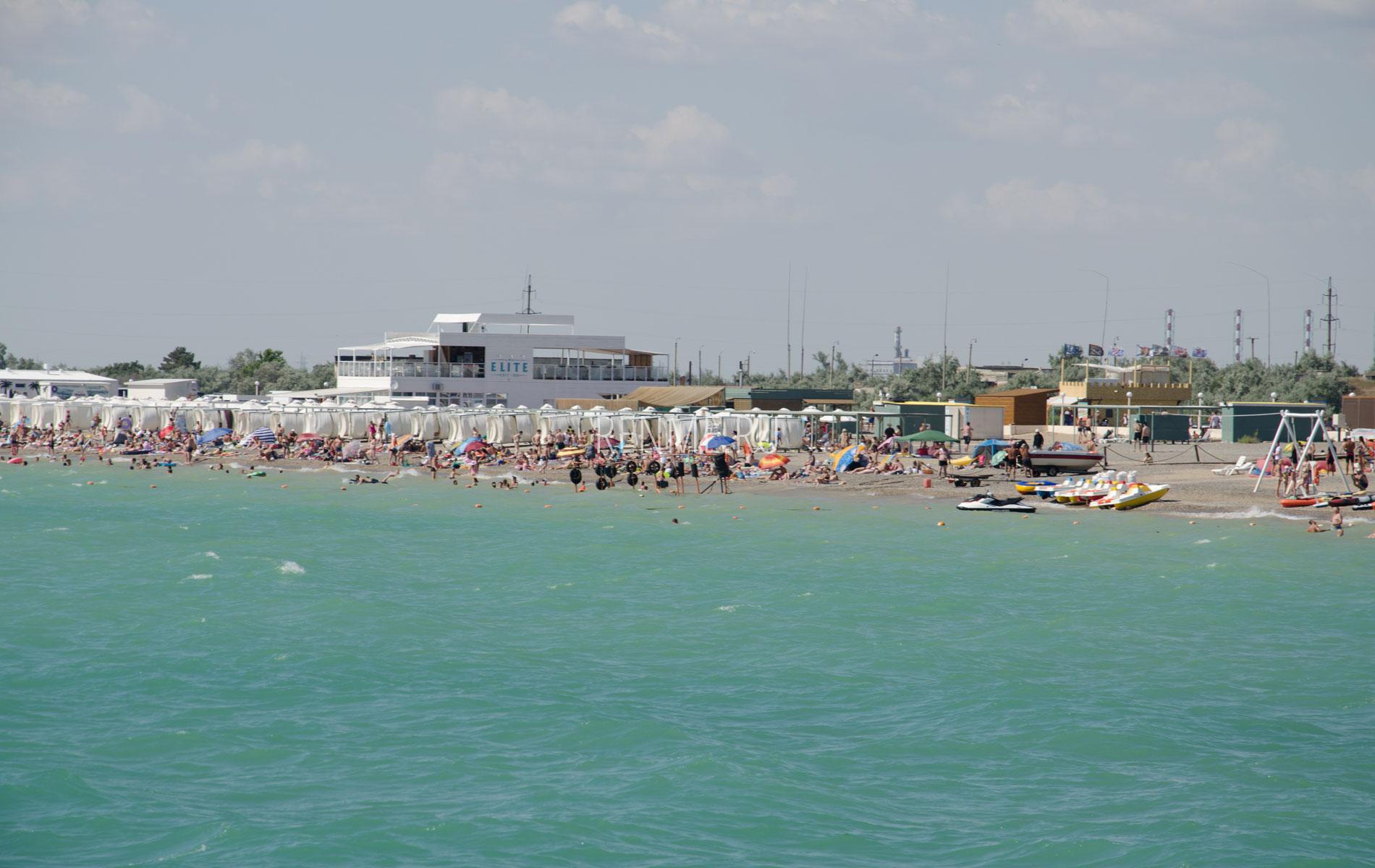 Море пляж Новофедоровка. Фото Новофедоровки