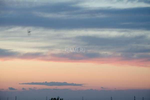Красивый закат в Крыму. Фото Заозёрного