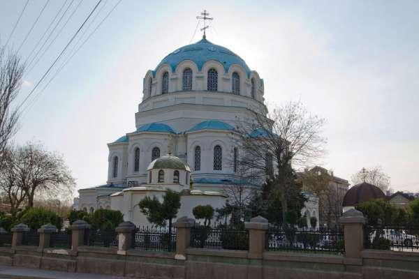 Собор Святителя Николая Чудотворца 2019. Фото Евпатории