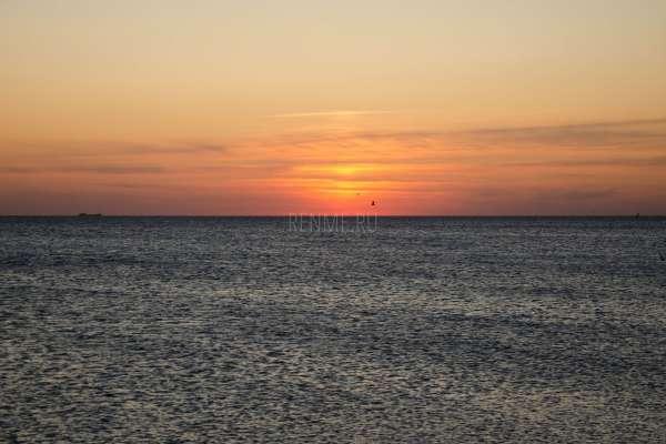 Закат на море в Крыму. Фото Заозёрного