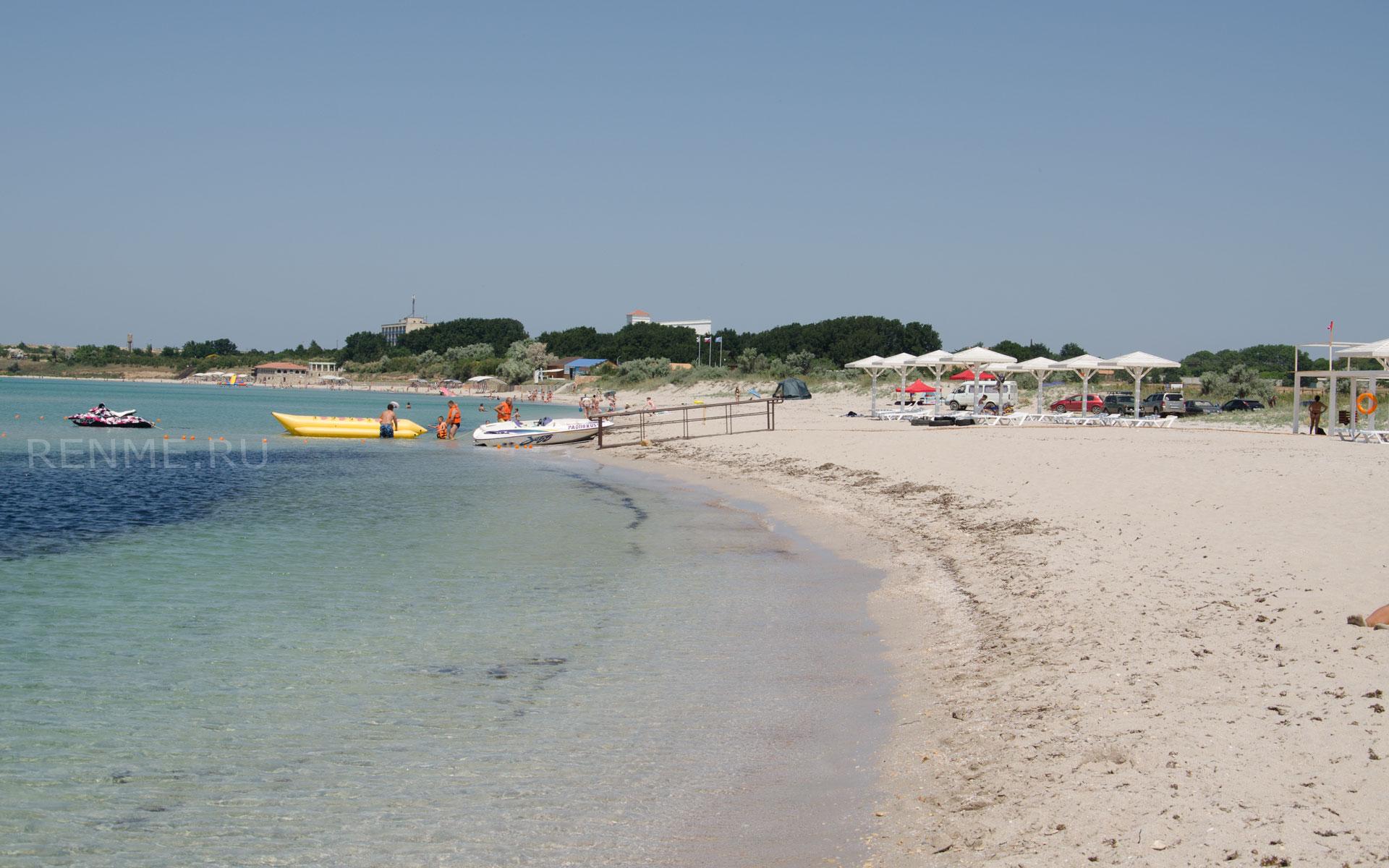 Лучшие пляжи Черного моря. Фото Оленевки