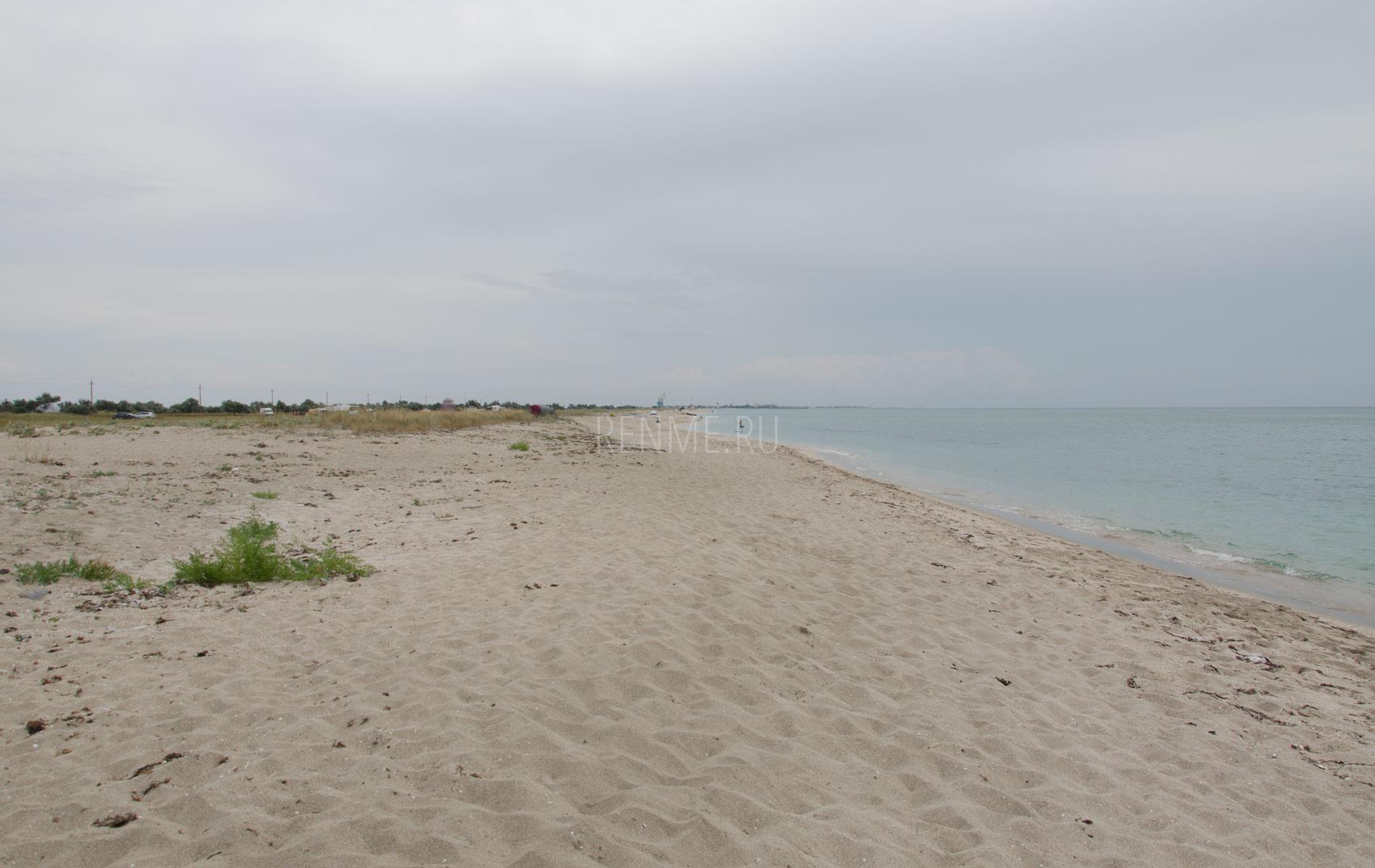 Пляж Беляус и августе 2019. Фото Мирного