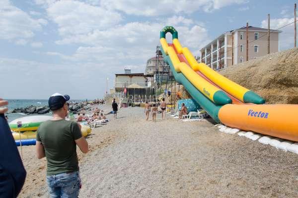 Пляж летом в Николаевке 2019. Фото Николаевки