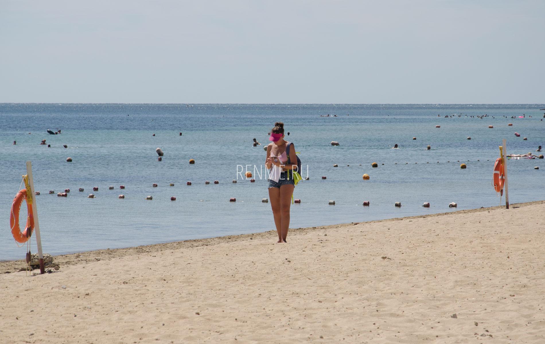 Поселковый песчаный. Фото Заозёрного