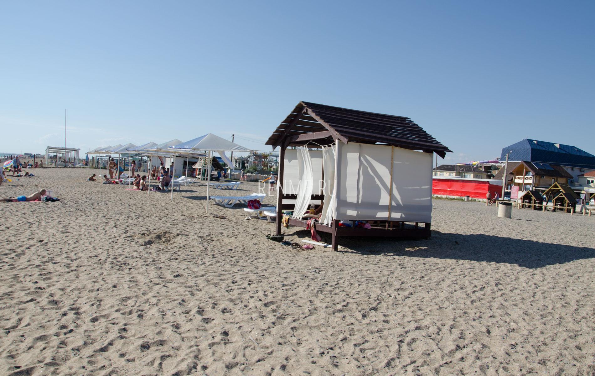 Crimean beach. Фото Прибрежного