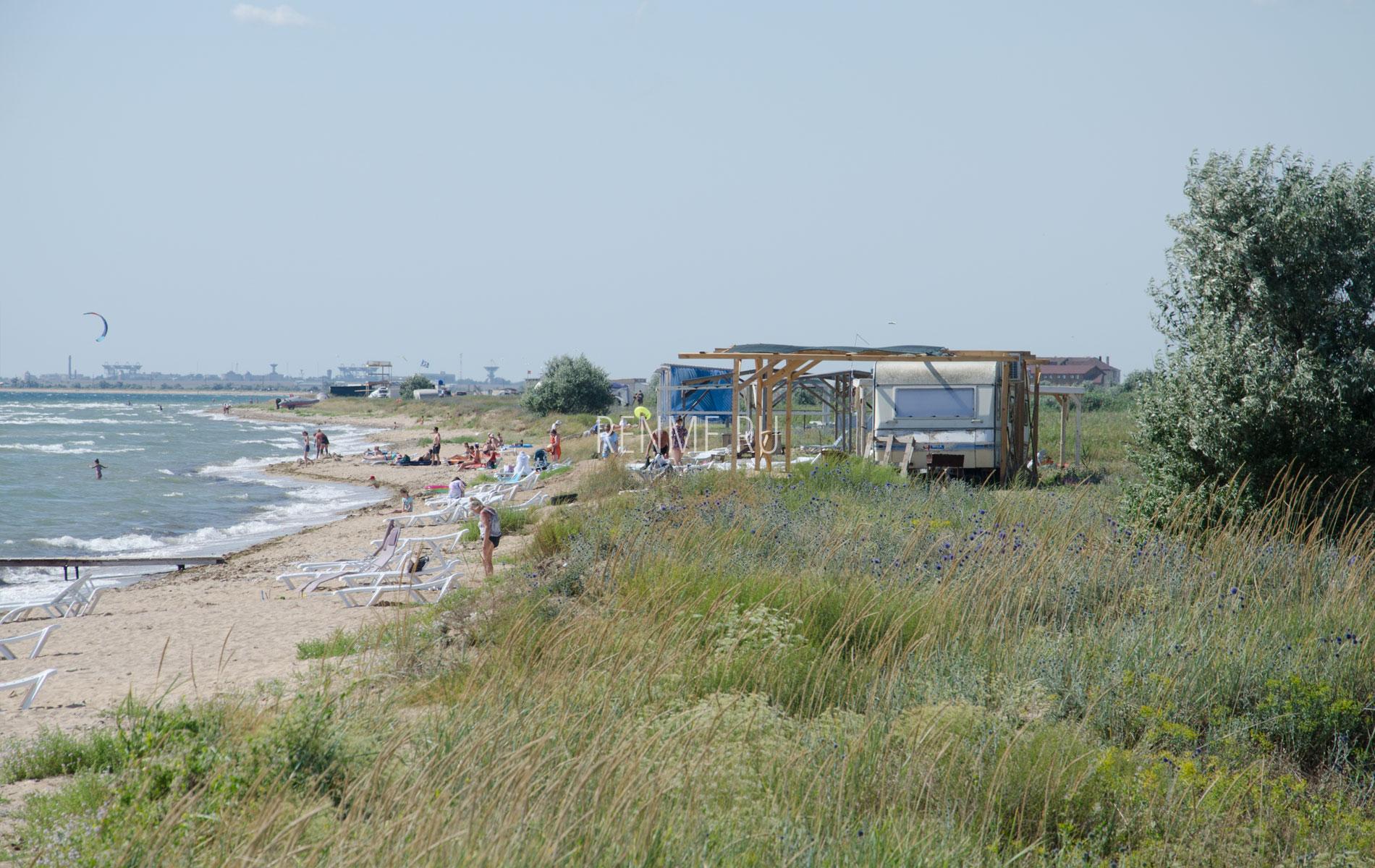 Дикие пляжи Крыма в сезон 2019. Фото Заозёрного
