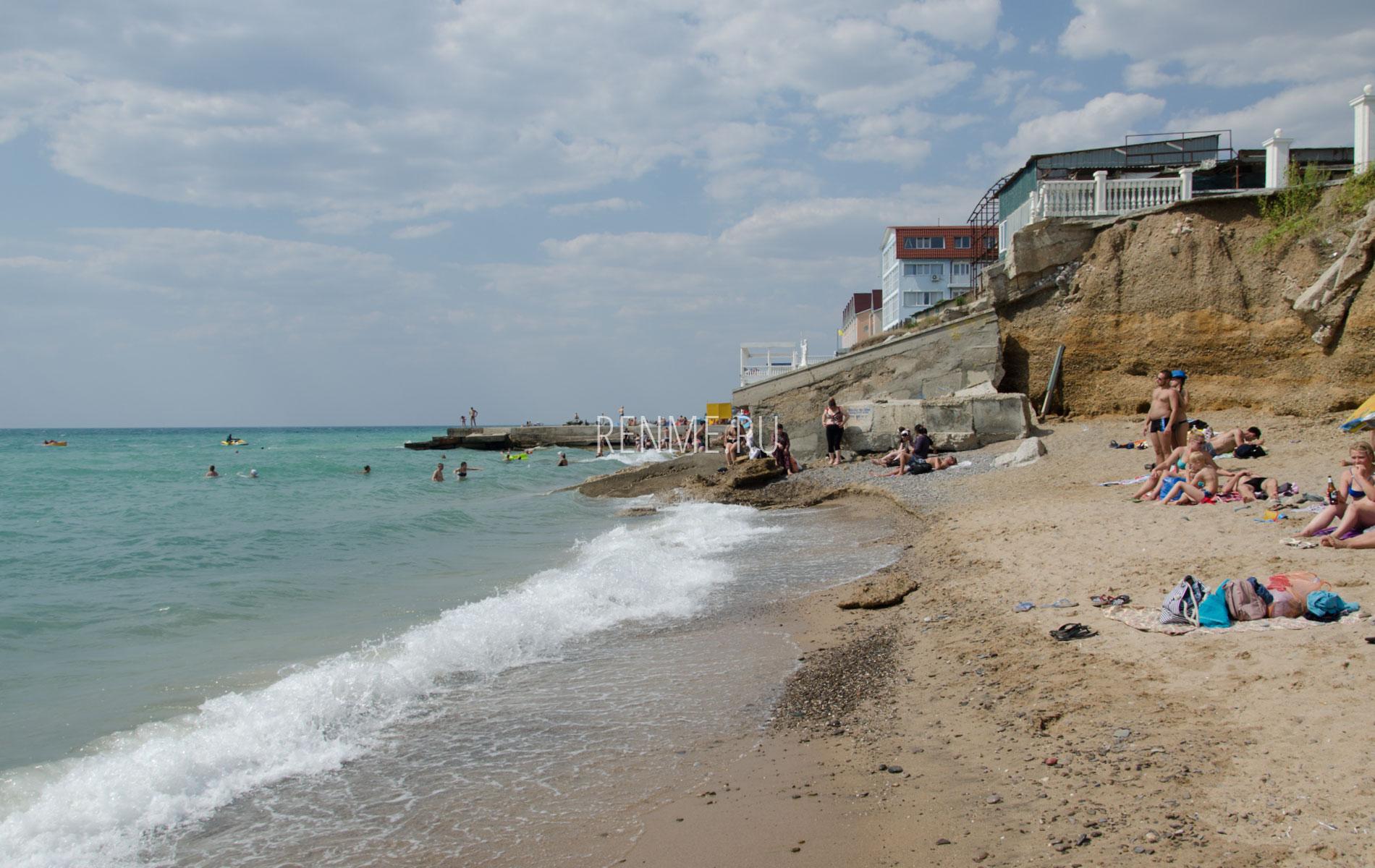 Пляж Николаевки в июне 2019. Фото Николаевки
