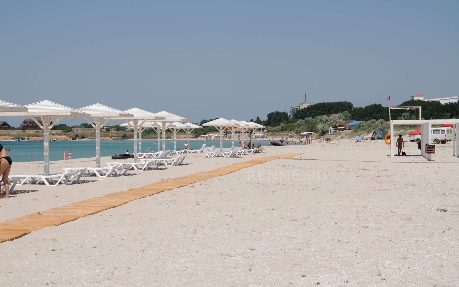 Лучшие белые пляжи. Фото Оленевки