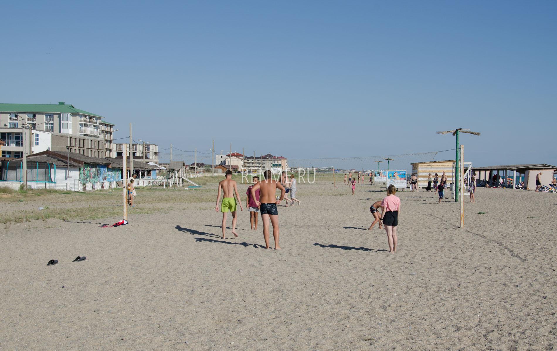 Пляжный волейбол летом 2019. Фото Прибрежного