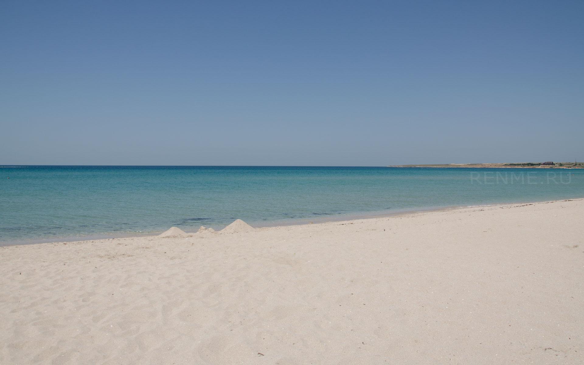 Дикий пляж на Тарханкуте. Фото Оленевки
