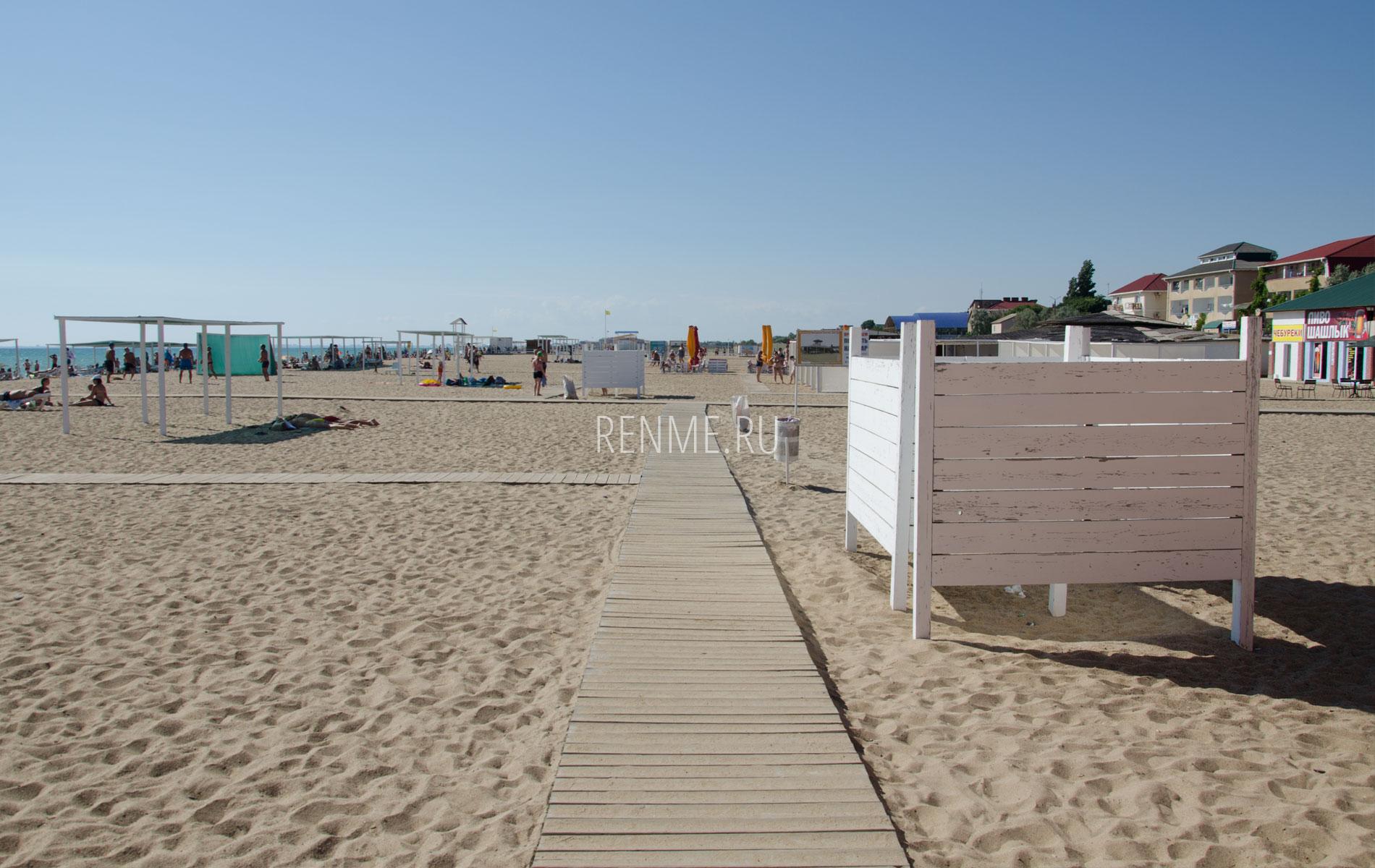 Прибой. Песчаный пляж в 2019. Фото Сак