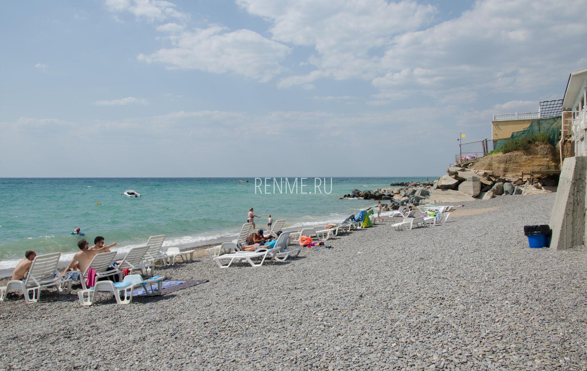 Чистый пляж Николаевки 2019. Фото Николаевки