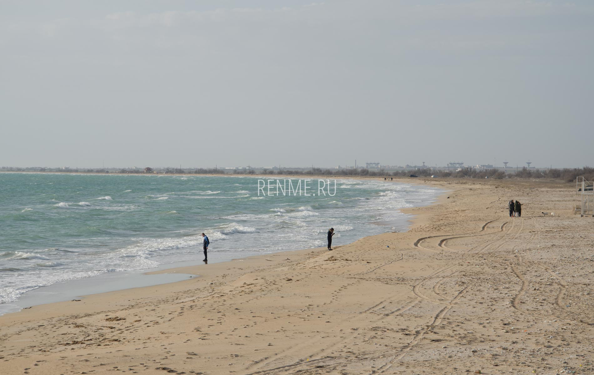 8 Марта 2020 на диком пляже. Фото Заозёрного