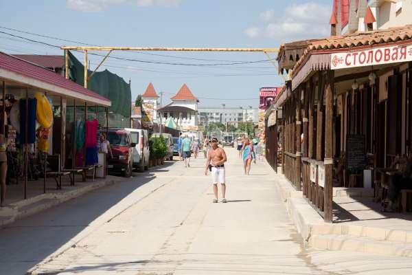 Курортная улица летом 2019. Фото Поповки